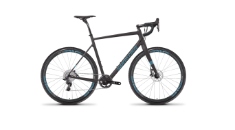 "Santa Cruz Stigmata 2.0 CC 28"" bike size 60cm black matt/blue CX1- configuration 2017"