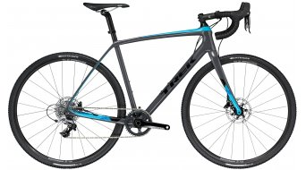 "Trek Boone 5 disc 28"" Cyclocrosser bike solid charcoal/california sky blue 2018"