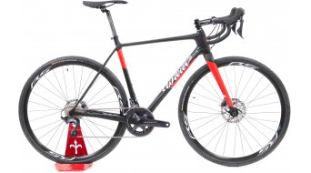 "Wilier Cento1Cross disc 28"" road bike bike Shimano Ultegra Di2/Shimano RS171 black/red 2020"