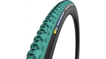 "Michelin Power CC Jet 28"" Cyclocross 折叠轮胎 700x33C (33-622) TLR 绿色/黑色"