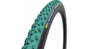 "Michelin Power CC Mud 28"" Cyclocross 折叠轮胎 700x33C (33-622) TLR 绿色/黑色"