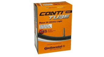 Continental Race 26/27.5 Light 公路车内胎 20-571 -> 25-599 法式气嘴 (Sclaverand) 42mm