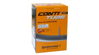Continental Race 28 Wide 公路车内胎 25-622 -> 32-630 法式气嘴 (Sclaverand) 42mm