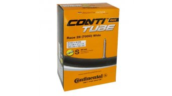 Continental Race 28 Wide 公路车内胎 25-622 -> 32-630 法式气嘴 (Sclaverand) 60mm