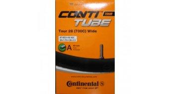 Continental Tour 28 wide 公路车内胎 54-584 -> 62-622 汽车气门芯(美嘴) 40mm