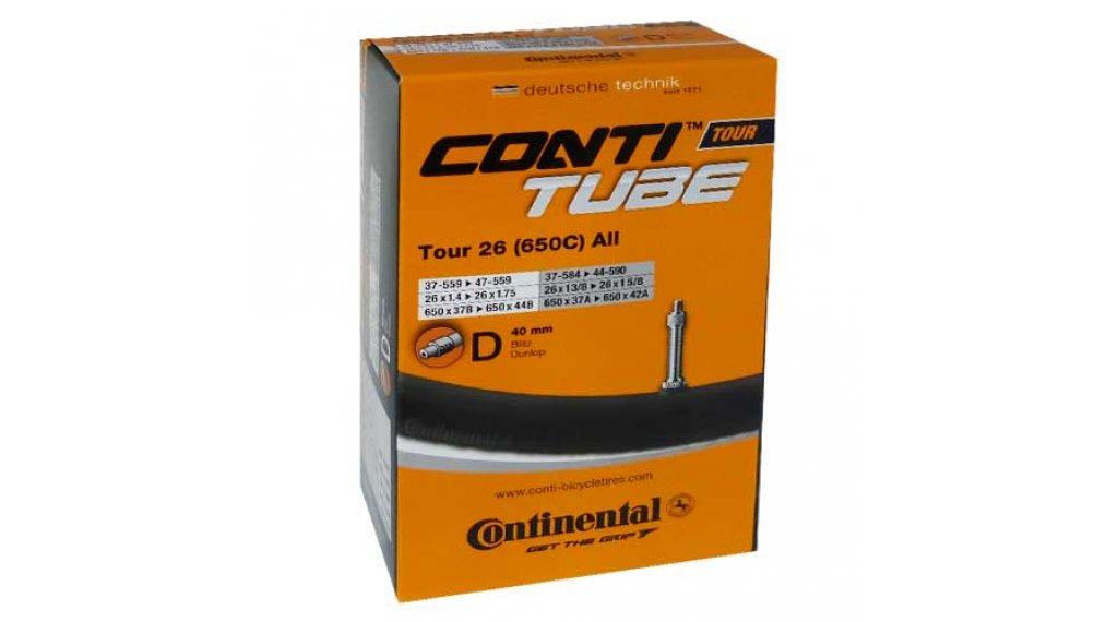 Continental Tour 26 公路车内胎 37-559 -> 47-597 Dunlop气门芯(德嘴) 40mm