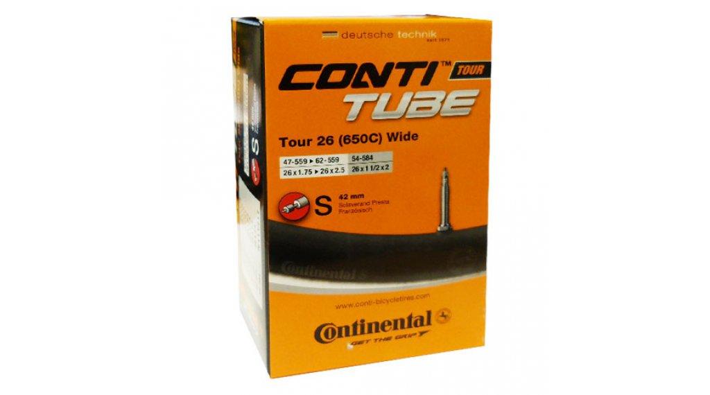 Continental Tour 26 wide 公路车内胎 47-559 -> 62-559 法式气嘴 (Sclaverand) 42mm