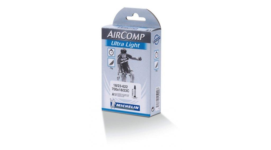 Michelin A1 Aircomp Ultra Light Rennradschlauch 27/28 frz. Ventil 60mm 18/23-622