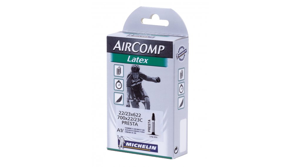 Michelin a1 latex chambre air v lo de route valve presta for Chambre a air velo route