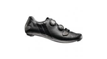 Bontrager XXX bici carretera-zapatillas tamaño 45 negro- MODELO DE DEMONSTRACIÓN UNGLEICHES par li. tamaño 46. re. tamaño 46