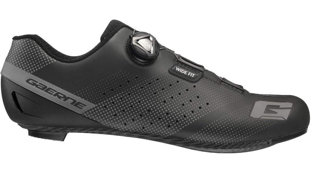 Gaerne G.Tornado Carbon Wide Rennrad-Schuhe Gr. 40.0 black
