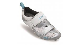 Giro Flynt Tri road bike- shoes ladies- shoes silver/white milky blue 2017