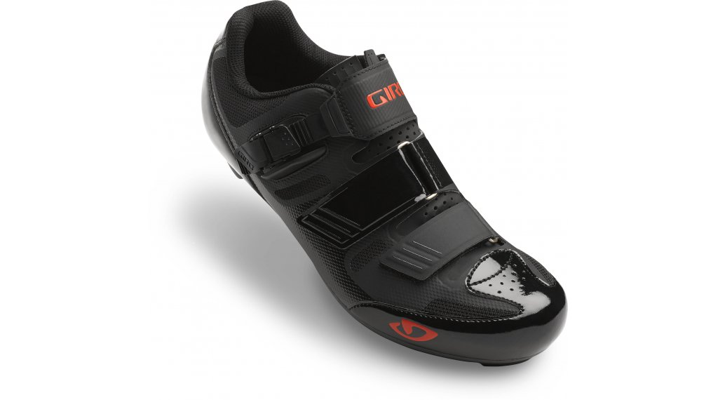 Giro Apeckx II Rennrad-Schuhe Gr. 42.5 black/bright red Mod. 2019