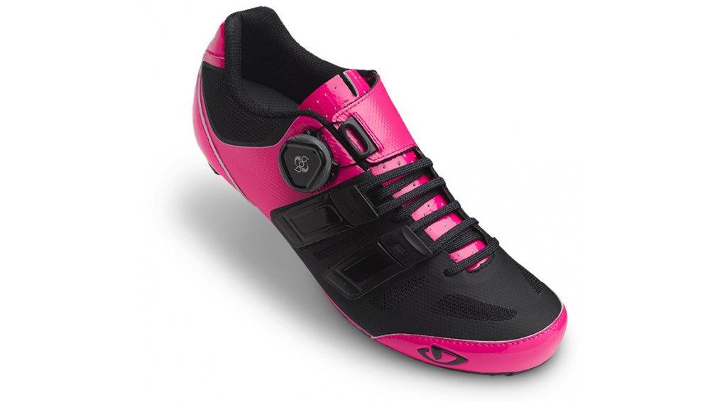 Giro Raes Techlace Rennrad-Schuhe Damen Gr. 38.5 bright pink/black Mod.2018