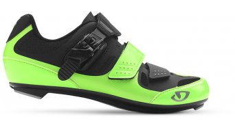 Giro Solara II Rennrad-Schuhe Damen-Schuhe Gr. 41,5 highlight yellow/matt black Mod.2017