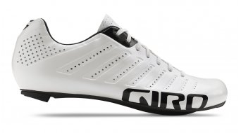 Giro Empire SLX road bike- shoes size 43.0 white/black 2018- display item/Beide shoes haben on the nose cone black St belt (no Einschränkung off shoe ), only oberflächig sichtbar !