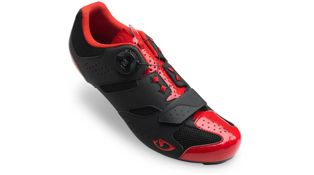 Giro Savix Rennrad-Schuhe Gr. 40.0 bright red/black
