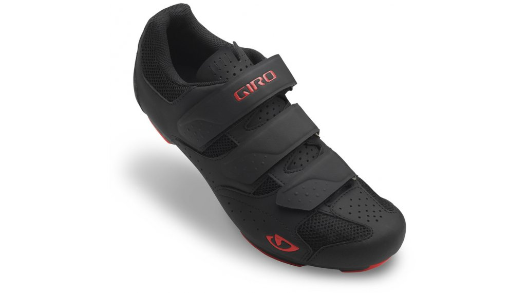 Giro Rev Rennrad-Schuhe Gr. 48.0 black/bright red