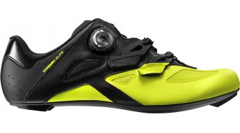 Mavic Cosmic Elite road bike- shoes men size 38 2/3 (5.5) black/black/safety yellow