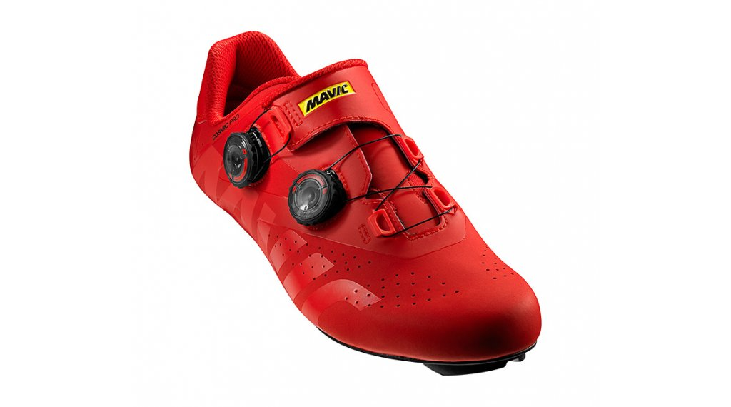 Mavic Cosmic Pro scarpe ciclismo da uomo mis. 38 2/3 (5.5) fiery red/fiery red/black