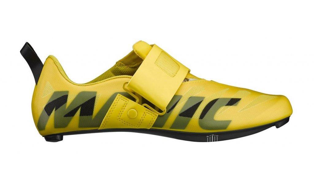 Mavic Cosmic SL Ultimate Tri 铁人三项-鞋 男士 型号 38 2/3 (5.5) yellow Mavic/yellow Mavic/black