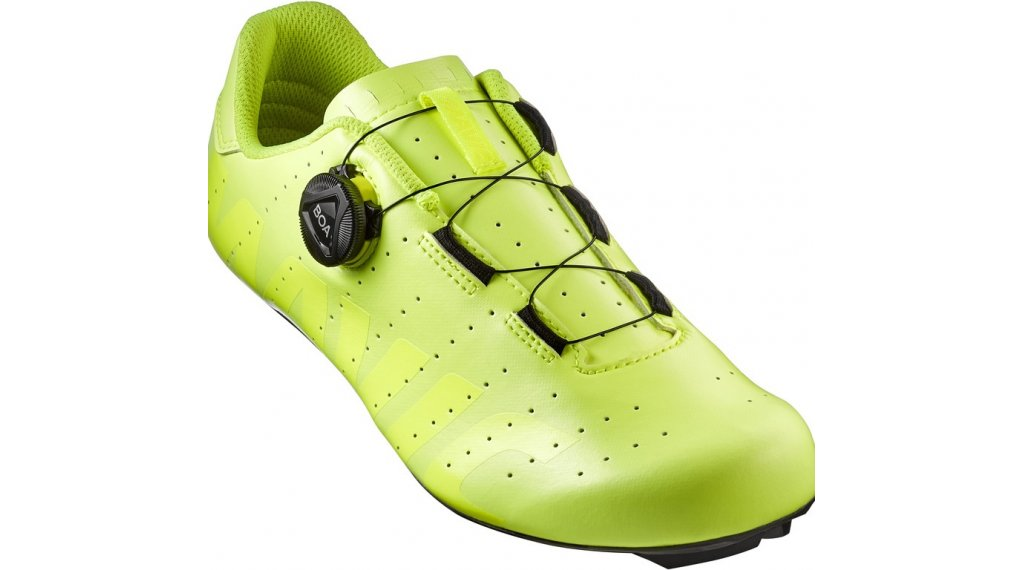 Mavic Cosmic Boa 公路赛车-鞋 男士 型号 42 (8) safety yellow/safety yellow/black