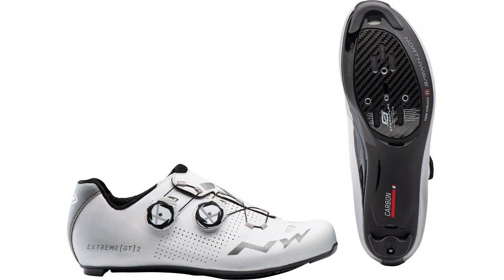 Northwave Extreme GT 2 Rennrad-Schuhe Herren Gr. 36.0 white/silver reflective