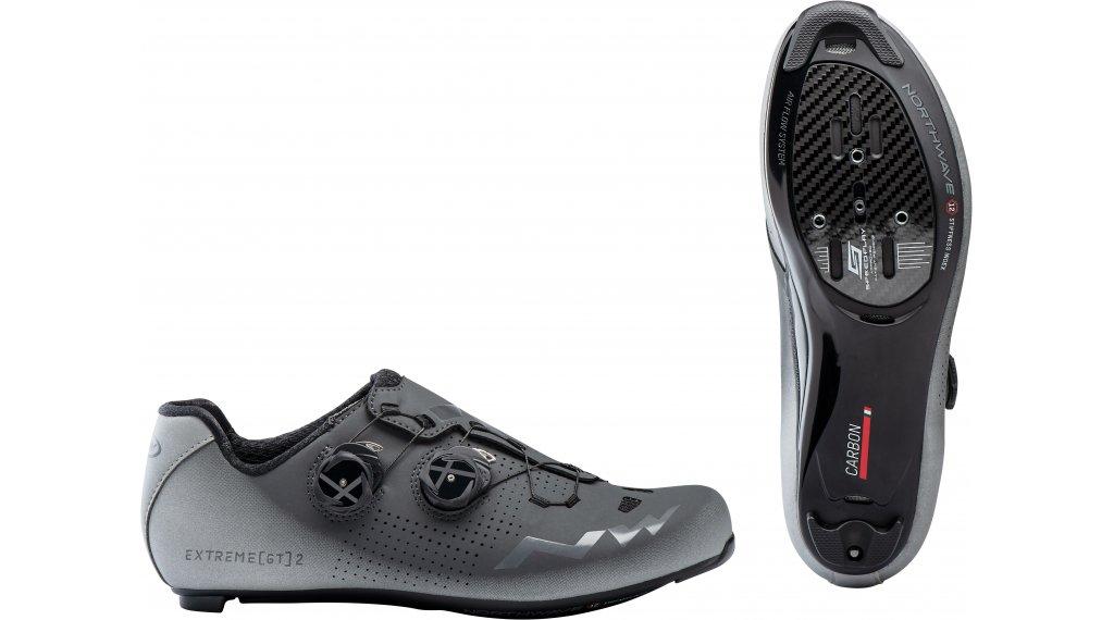 Northwave Extreme GT 2 Rennrad-Schuhe Herren Gr. 36.0 anthracite/silver reflective