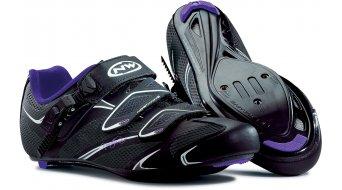 Northwave Starlight SRS bici carretera zapatillas Señoras-zapatillas tamaño 41 negro/violet