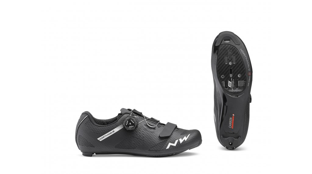 Northwave Storm Carbon Rennrad-Schuhe Gr. 43.0 black