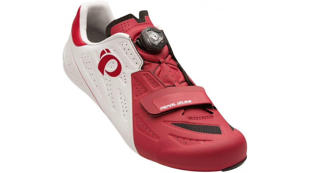 Pearl Izumi Elite V5 Rennrad-Schuhe Herren Gr. 39.0 white/true red