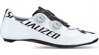 Specialized S-Works 7 Team Rennrad-Schuhe super white