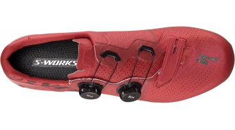 Specialized S-Works 7 road bike- shoes size 39.5 crimson red