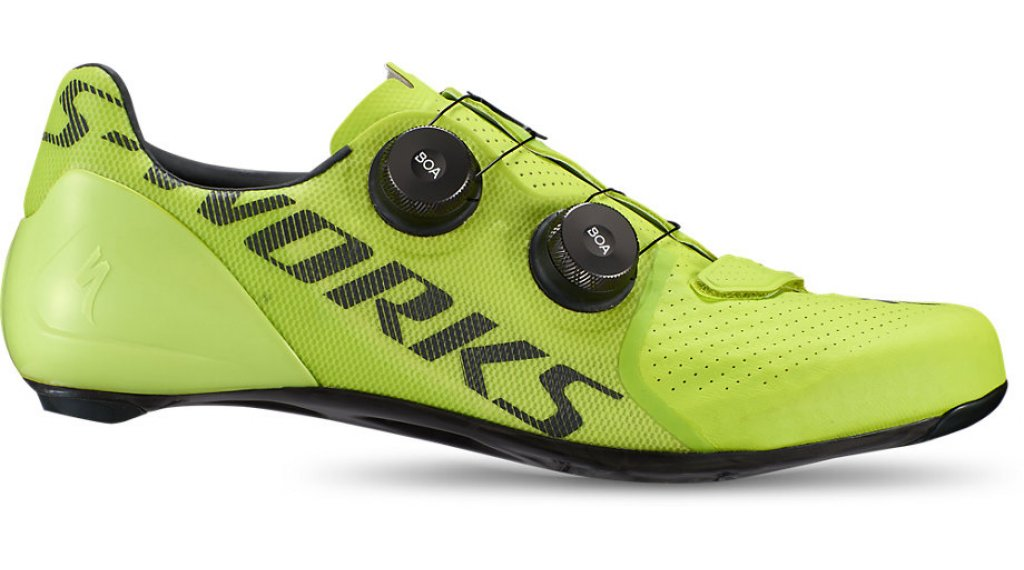 Specialized S-Works 7 Rennrad-Schuhe Gr. 40.0 hyper green