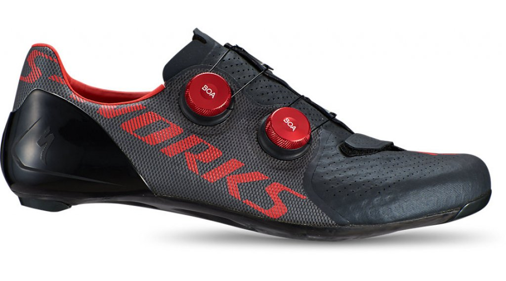 Specialized S-Works 7 scarpe ciclismo mis. 39.0 black/rocket red