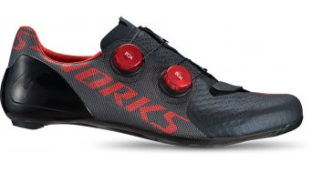 Specialized S-Works 7 road bike- shoes size 42.0 black/rocket red