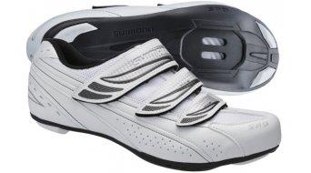 Shimano SH-WR35 SPD Señoras zapatillas bici carretera-Touring-zapatillas tamaño 41 blanco(-a)