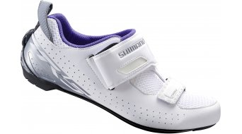 Shimano SH-TR5WW SPD-SL/SPD Señoras zapatillas Triathlon-zapatillas blanco(-a)