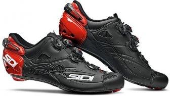 Sidi Shot Rennrad-Schuhe Herren Gr. 41.5 matt black/red