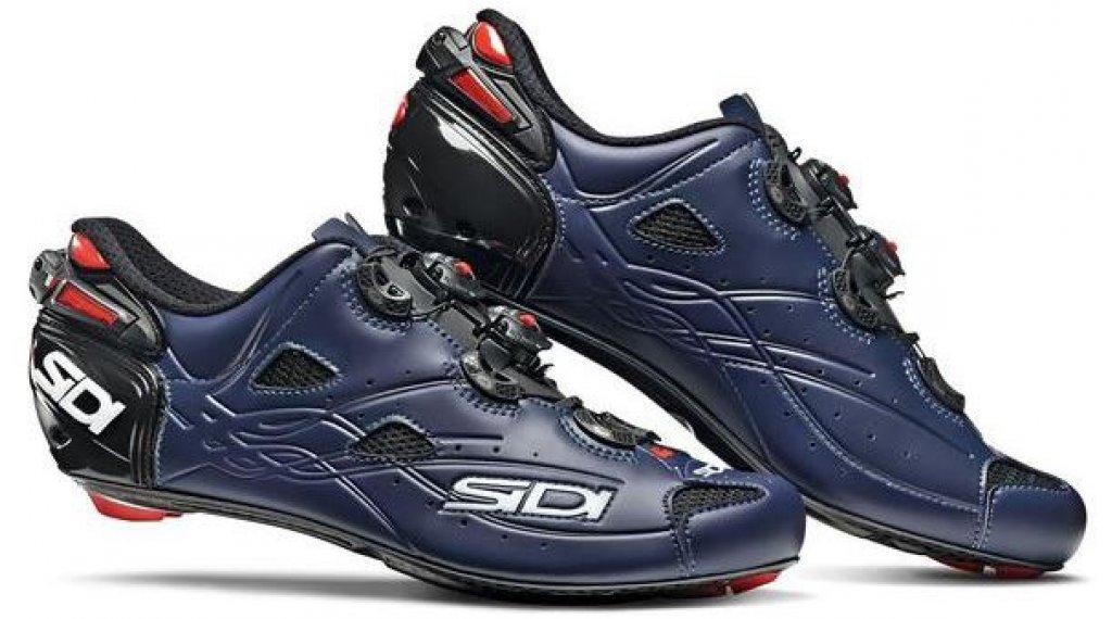 Sidi Shot Rennrad-Schuhe Herren Gr. 40.0 matt blue/black