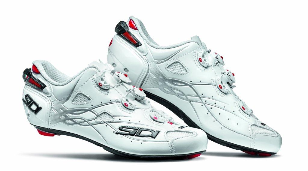 Sidi Shot Rennrad-Schuhe Herren Gr. 40.5 white/white