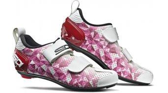 Sidi T-5 Air Woman Triathlon-Schuhe Damen pink/red/white