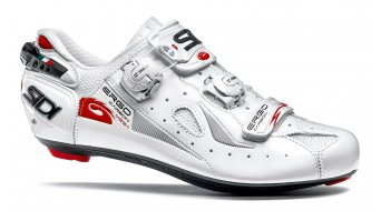 Sidi Ergo 4 carbon Mega Mega men road bike shoes white/white 2018