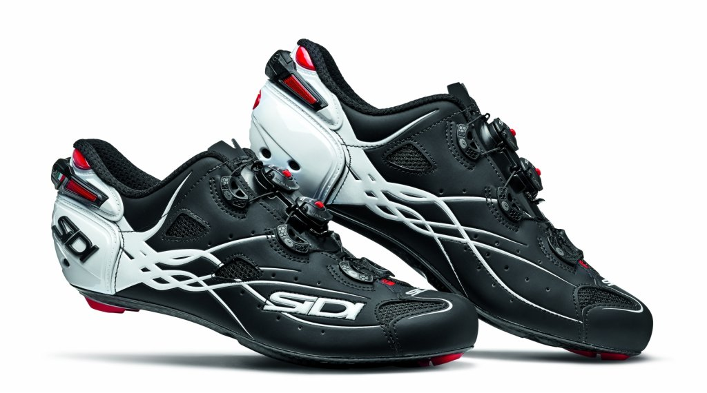 Sidi Shot Rennrad-Schuhe Herren Gr. 40.0 matt black/white