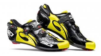 Sidi Wire carbono Caballeros bici carretera zapatillas negro/amarillo fluo Mod. 2018