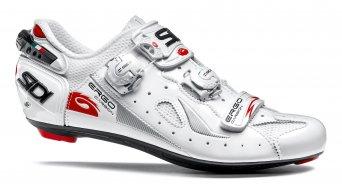 Sidi Ergo 4 carbon men road bike shoes size 48 white/white 2018