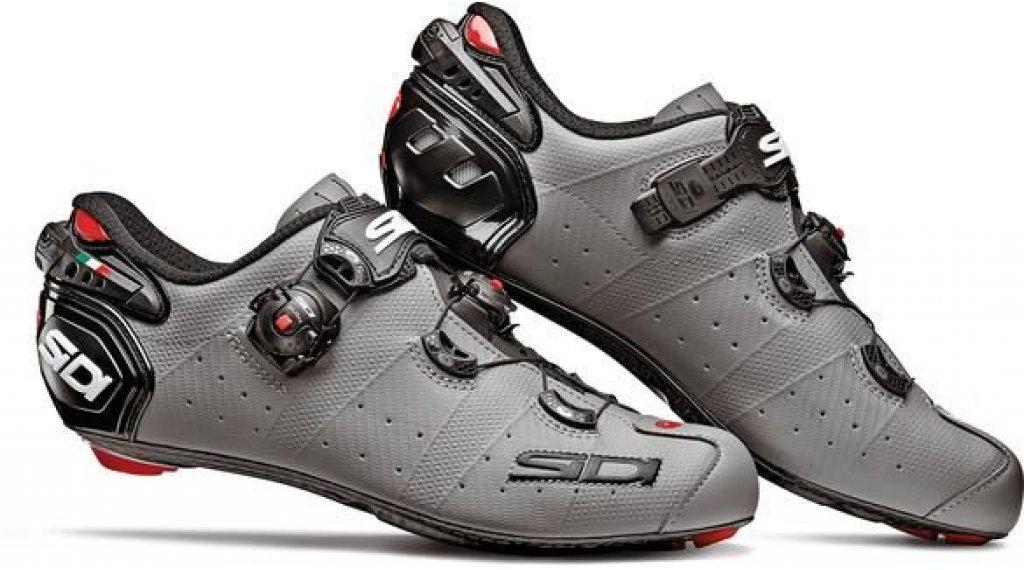 Sidi Wire 2 Carbon Rennrad-Schuhe Herren Gr. 39.0 matt grey/black