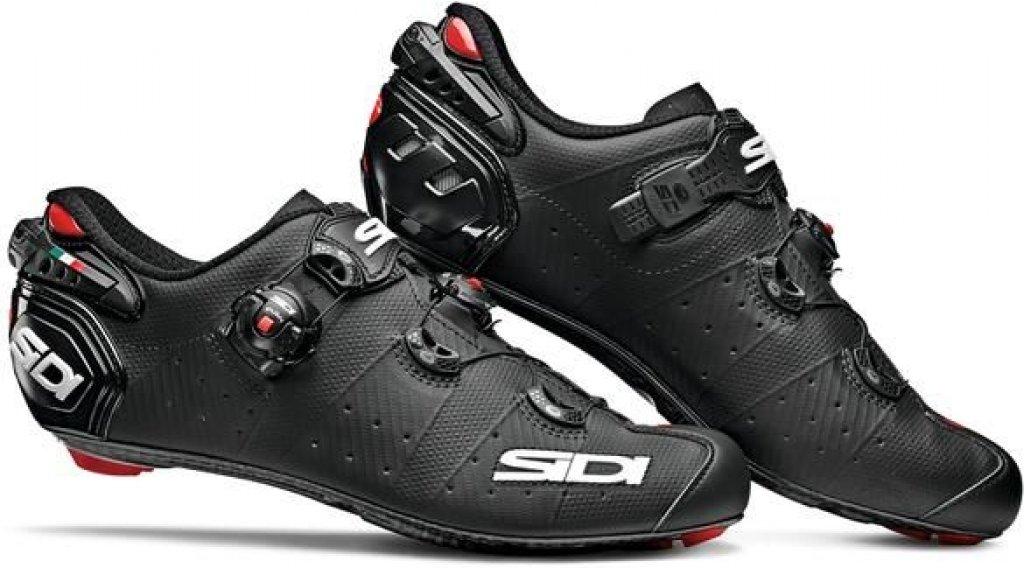Sidi Wire 2 Carbon Rennrad-Schuhe Herren Gr. 41.5 matt black