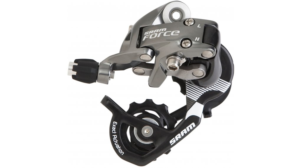 SRAM Force rear derailleur 10 speed short Cage (Max. 28  teeth ) grey