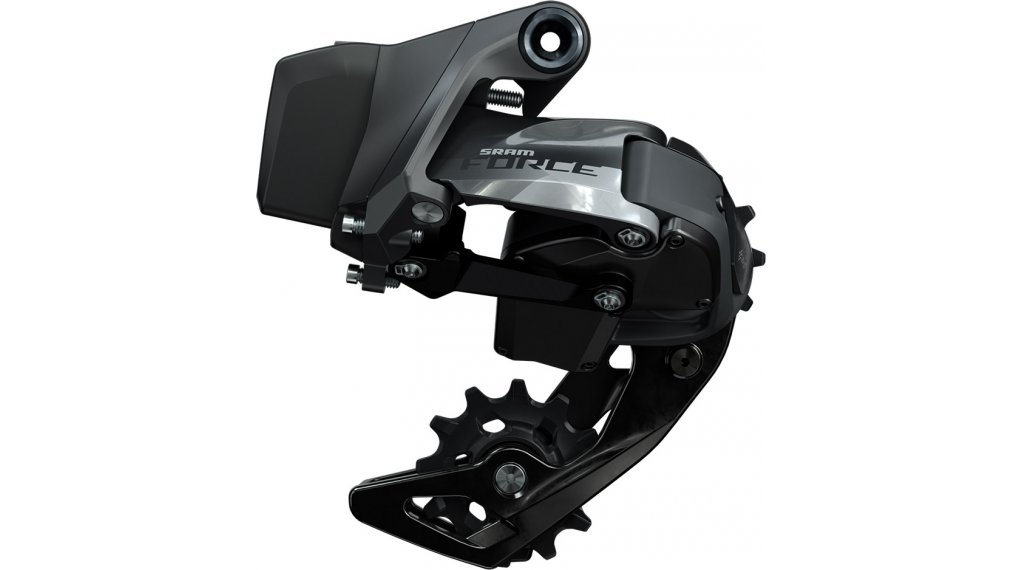 SRAM Force eTap AXS 后拨链器 Short Cage 12速 black glossy